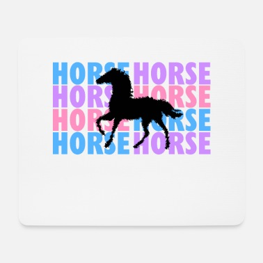 Horse Riding Horse riding horse - Mouse Pad