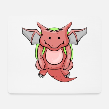 School Beginner School beginner dragon - Mouse Pad