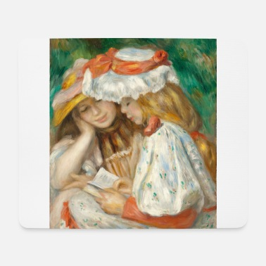 Auguste Renoir - Two Reading Girls. 1890/91. - Tappetino mouse