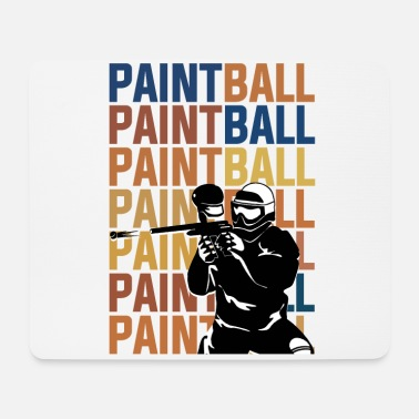 Paintball PAINTBALL PAINTBALL PAINTBALL - Mouse Pad