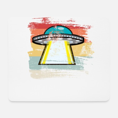 Outerspace Retro Outerspace - Mouse Pad