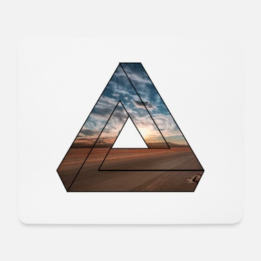 Nature Collection Triangle / nature / gift - Mouse Pad