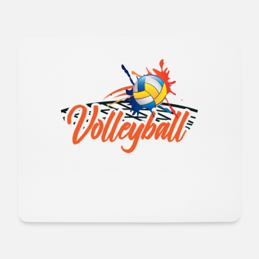 Volleyball Player Volleyball player volleyball player gift - Mouse Pad