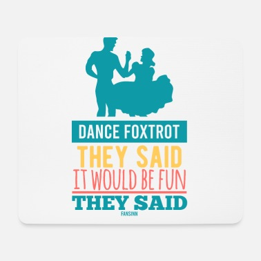 Ballroom Dancing dance foxtrot couple dance music - Mouse Pad