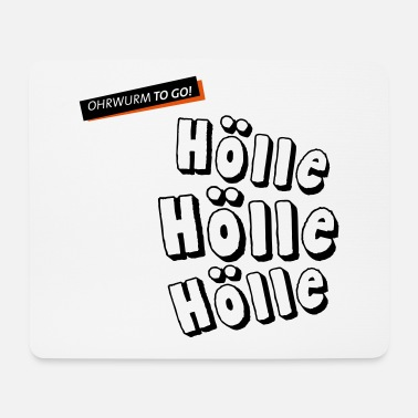 Hell Earwig to go - hell hell hell - Mouse Pad