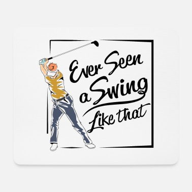 Plus Big swing golf - Tapis de souris