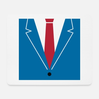 Mad Office Men Suit Tie - Mousepad