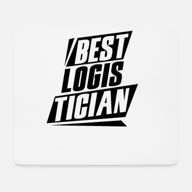 Training Best logistician - Mouse Pad