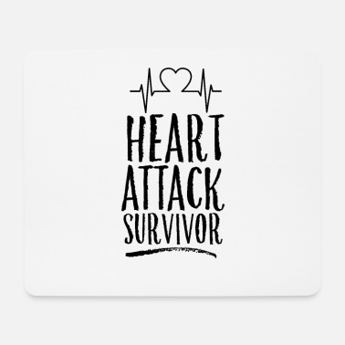 Attack Heart attack survivor heart attack heart attack - Mouse Pad