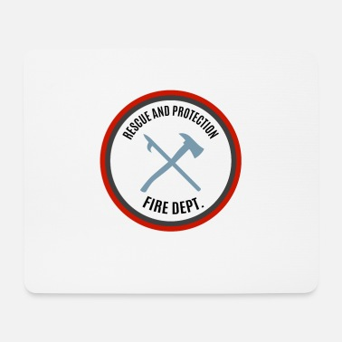 Protection Rescue and Protection - Save and Protect - Mouse Pad