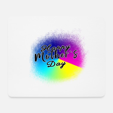 Mothers Day Happy mothers day - Happy mothers day - Mouse Pad