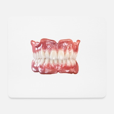 Teeth teeth - Mouse Pad