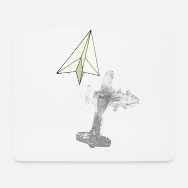 Inner Values Paper planes - inner values - Mouse Pad