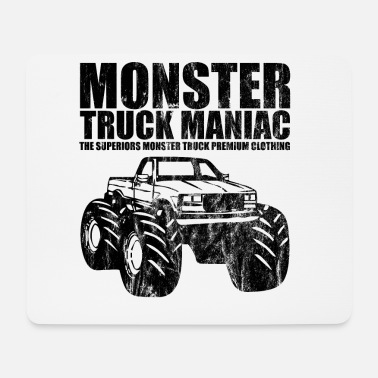 Süchtig SUPERIORS™ - MONSTER TRUCK MANIAC - Shirt Motiv - Mousepad (Querformat)