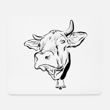 Cow Cow cows - Mouse Pad
