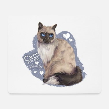 Cat Family - Mousepad