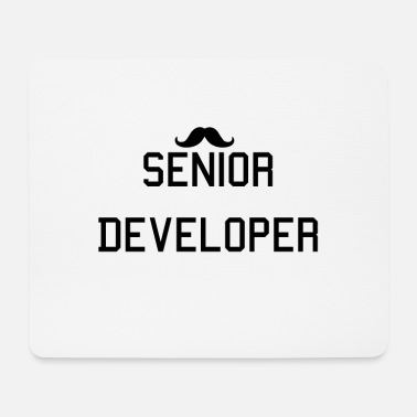 Senior Developer. Senior Entwickler. Informatiker. - Mousepad