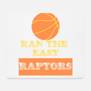 East Coast Raptors Ran The East T-Shirt Basketball USA 2019 - Tapis de souris