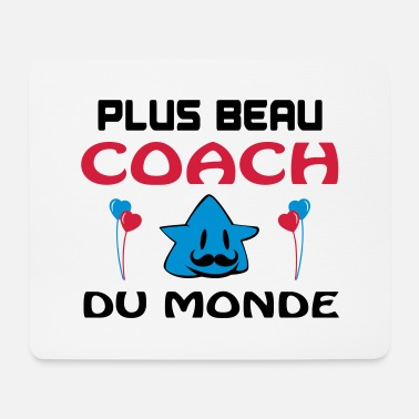 Gardien De But PLUS BEAU COACH DU MONDE - Tapis de souris