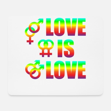 Miscellaneous Love Is Love Gay Lesbians Love Freedom - Mouse Pad