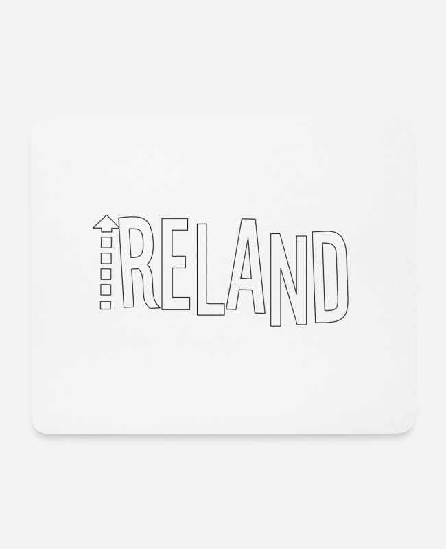 Ireland Mouse Pads - Ireland - Mouse Pad white