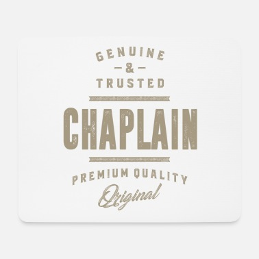 Genuine Genuine Chaplain - Mouse Pad