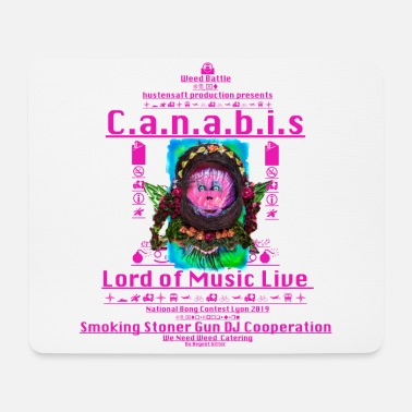 Legalize It Regent Gitters Canabis Family ... Lord of Music - Mouse Pad