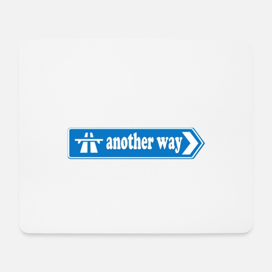 Gift Idea Mouse Pads - another way - Mouse Pad white
