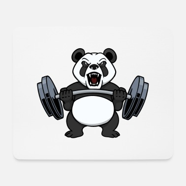 Weights Bodybuilder weight training weights weights - Mouse Pad