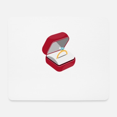 Engagement Engagement ring engagement - Mouse Pad