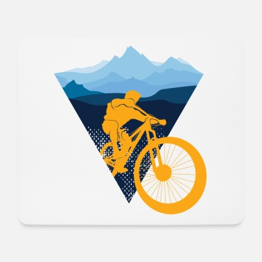 Bicicletta | mountain bike - Tappetino mouse