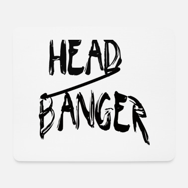 Headbanger Headbanger - black - Mouse Pad