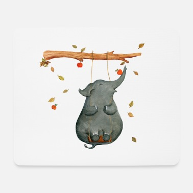 elephant - Mouse Pad (horizontal)