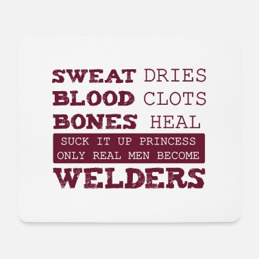 Jern Sweat Blood Bones Funny Welding Gift Sc - Musematte