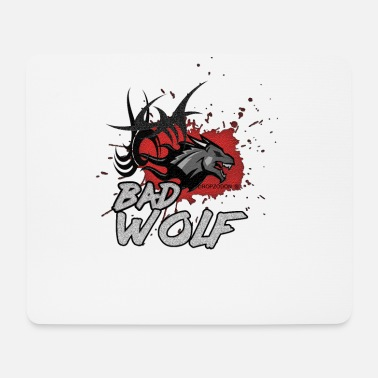 Word Wolf motif of Dropzodon ® - Mouse Pad