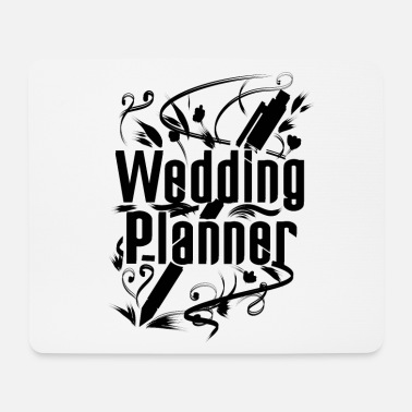 Pen Planner wedding - Mouse Pad