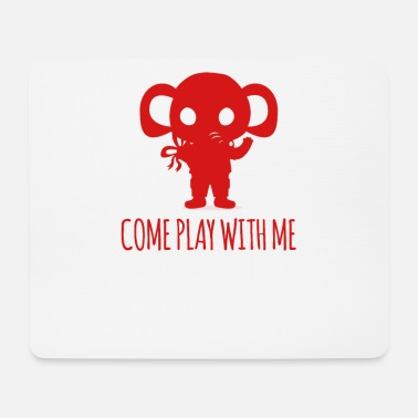 Afrika Elefant - Elephant / COME PLAY WITH ME - Mousepad