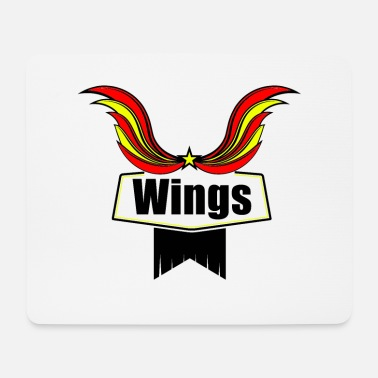 Wing Wings - Mouse Pad