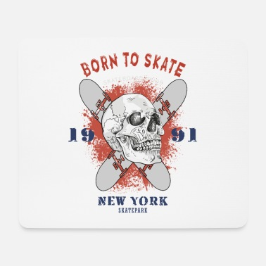 Boarder Born To Skate - Mousepad