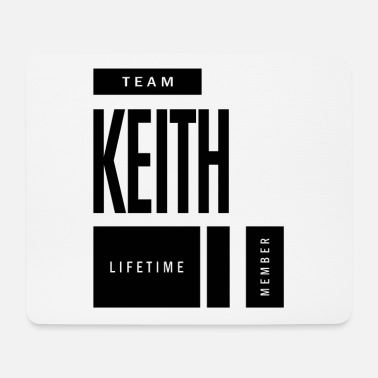 Keith Keith Personalized Name Birthday Gift - Mouse Pad