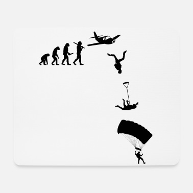 Skydiving Skydive Freefly Skydiving Skydiving Shirt - Mouse Pad