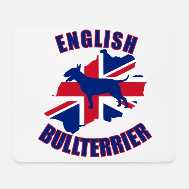 Bull Bull Terrier English Bull Terrier - Mouse Pad
