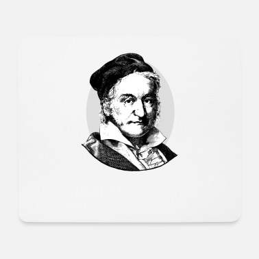 Intensified Course Gauss / Gauss the German mathematician & physicist - Mouse Pad