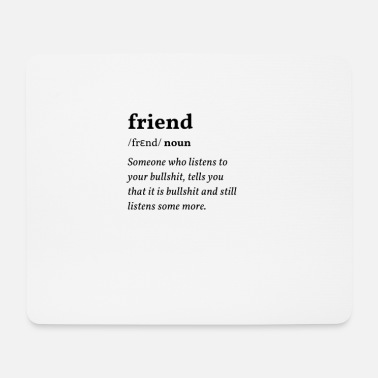 Bf Friend Clean Edition - Mouse Pad