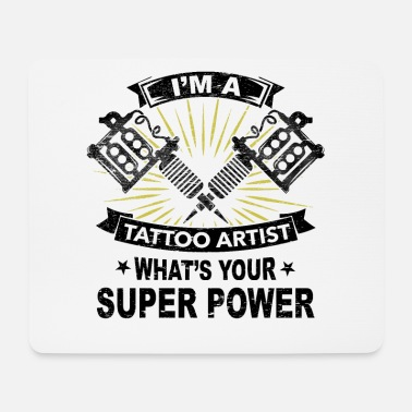 Skin Color Superpower, tattoo, gift, job, skin, color - Mouse Pad