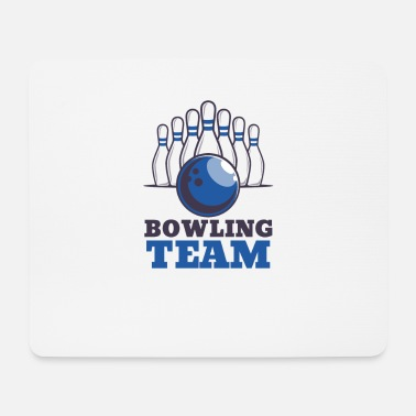 Bowling League Bowling team crew bowling pin tournament league bowling - Mouse Pad