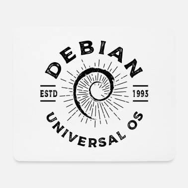 Operating System Debian T-Shirt - The perfect gift idea. - Mouse Pad