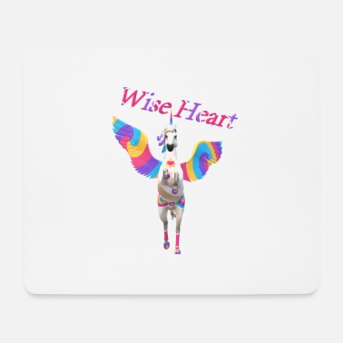 Pegasus Wise Heart - Mouse Pad