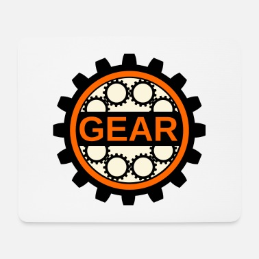 Motocycle Gear - Mouse Pad