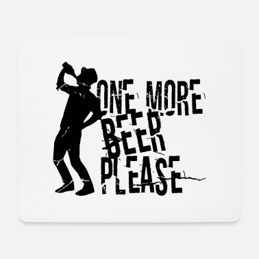 Wiese One more beer please - bierfest - wine - wiesen - Mousepad (Querformat)